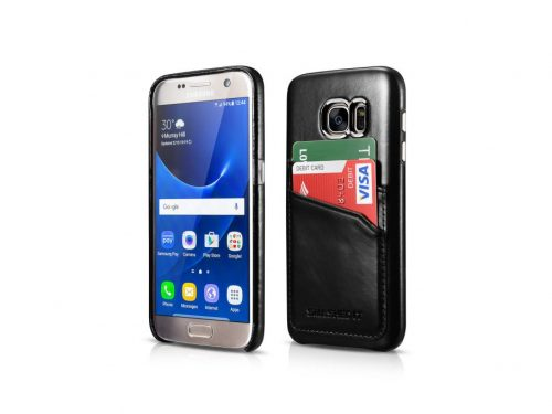 Samsung Galaxy S7 Vintage Leather Case - 2 Card Slots