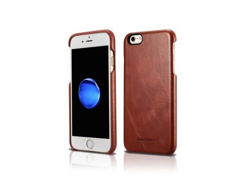 iPhone 6 / 6s Vintage Leather Rear Case - Brown