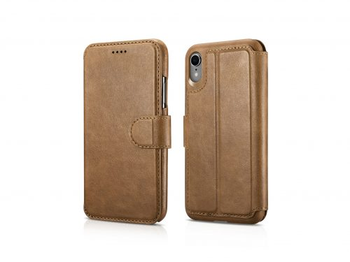 iPhone XR Leather Wallet Case - 2 in 1 Detachable
