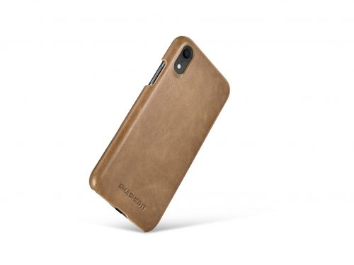 iPhone XR Leather Rear Case