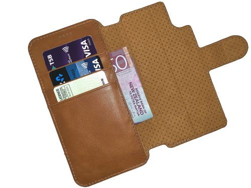 iPhone X / XS Leather Wallet Case - 2 in 1 Detachable