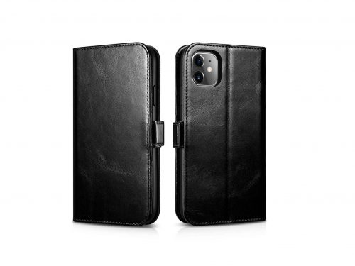 iPhone 11 Leather Wallet Case - 2 in 1 Detachable