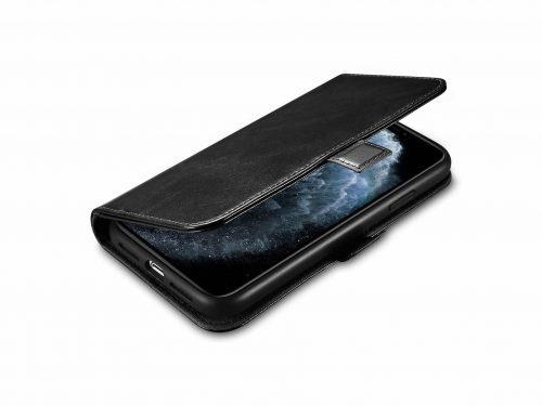iPhone 11 Pro Max Leather Wallet Case - 2 in 1 Detachable